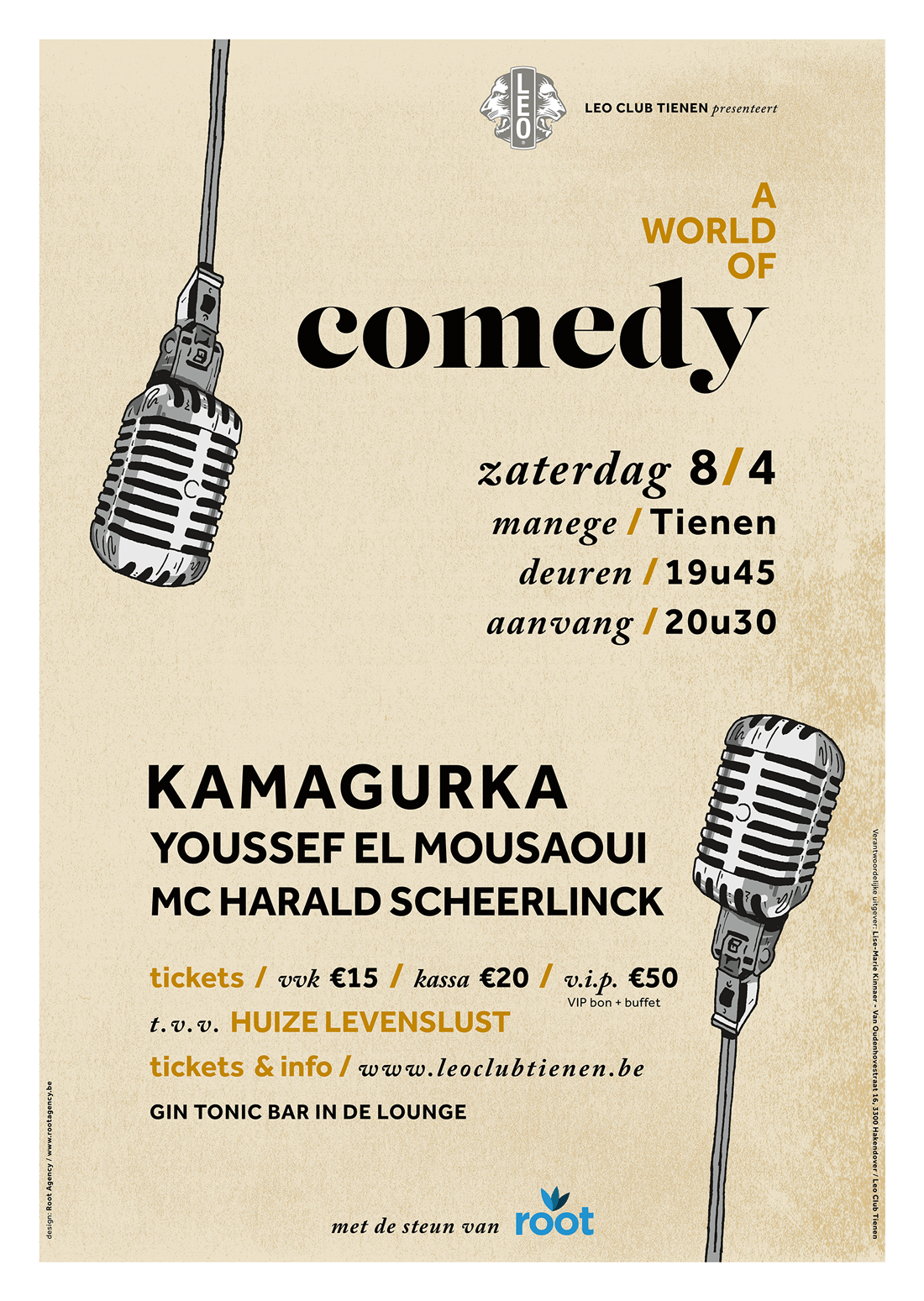 ComedyAffiche Leo Club
