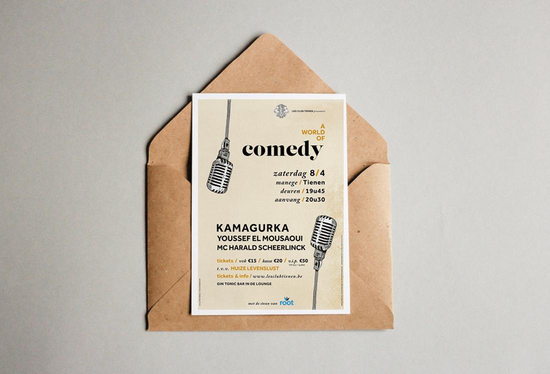 ComedyKaart Leo Club