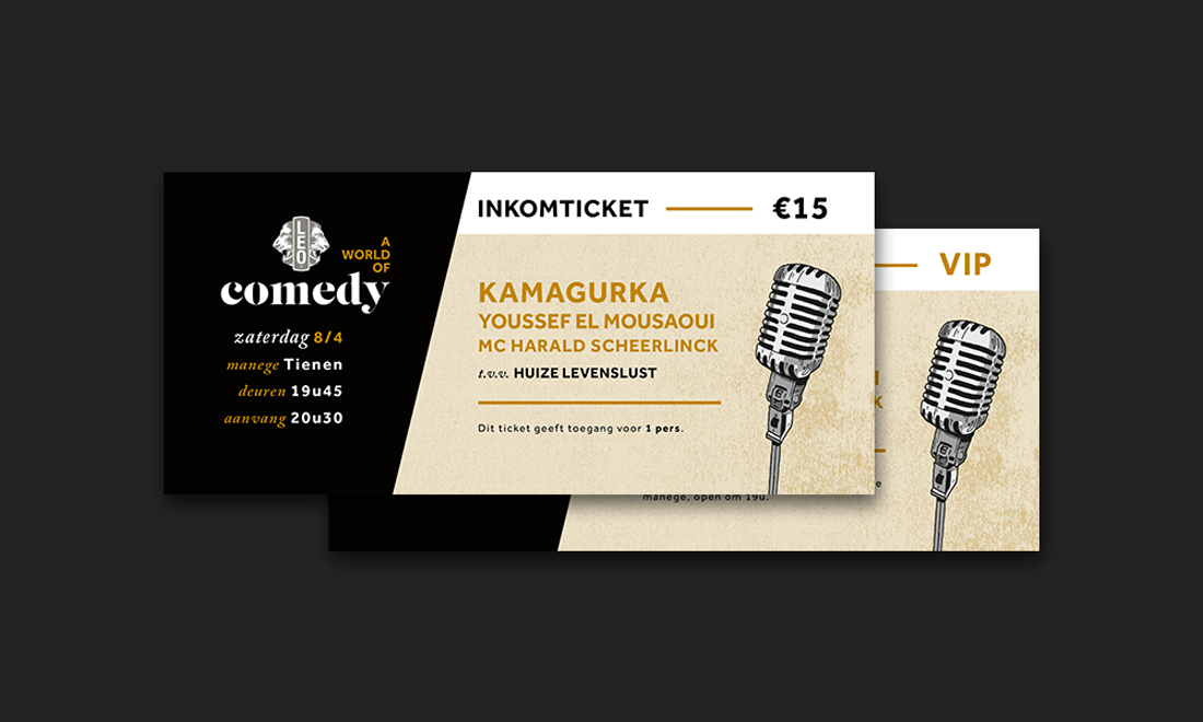 ComedyTicket Leo Club