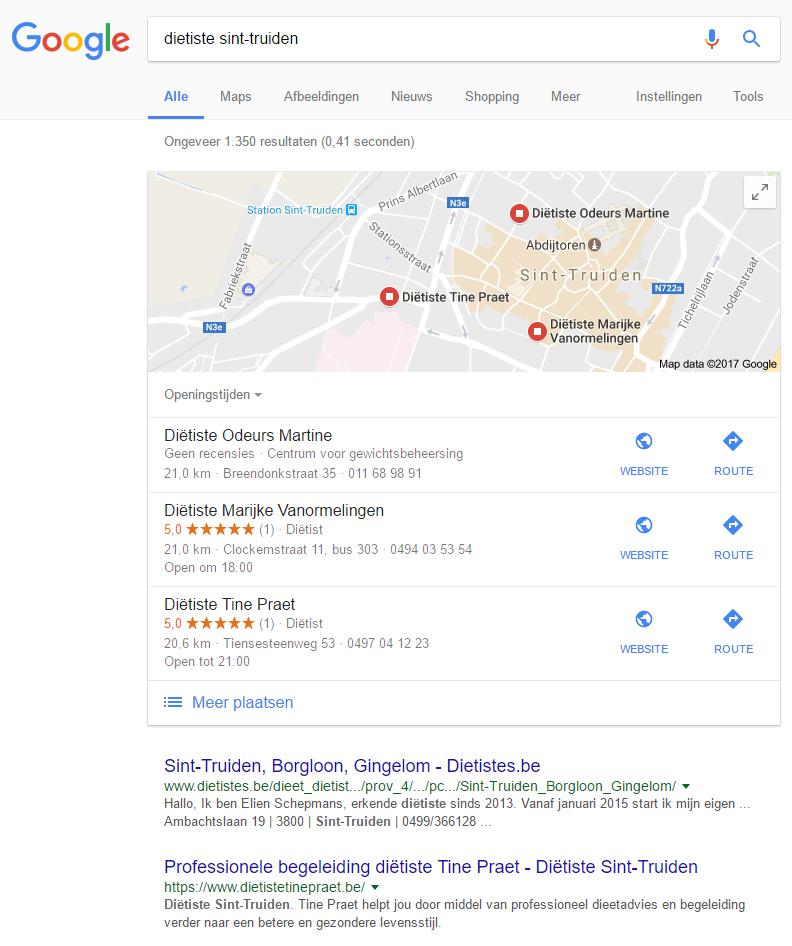 003.-Google-Mijn-Bedrijf-foto-1-Diëtiste-Sint-truiden Eenvoudig klanten scoren met Google Mijn Bedrijf