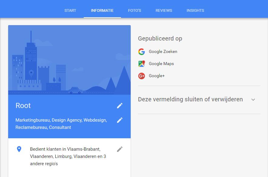 003.-Google-Mijn-Bedrijf-foto-3-Informatie-mijn-bedrijf-1 Eenvoudig klanten scoren met Google Mijn Bedrijf