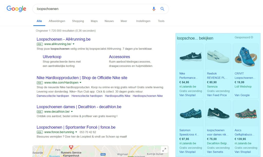 05-g-Ads-shopping-advertenties-voorbeeld-1024x614 Adverteren met Google Ads voor beginners (2019)